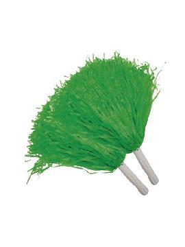 pompon verde 2 unidades