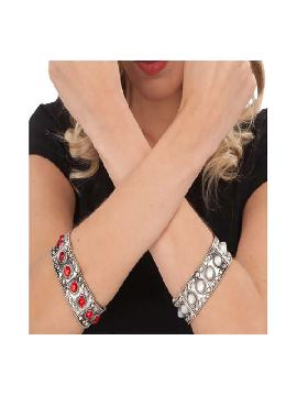 pulsera blanca de reina
