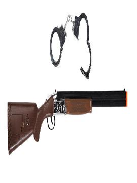 rifle con esposas de sheriff 71 cm