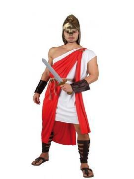 disfraz de guerrero romano adulto para hombre. También sirve como disfraz de Herodes para Navidad. Éste disfraz de Carnaval es ideal para divertirse en las Fiestas de Carnavales tan divertidas y estrambóticas como siempre y que cada vez se celebran en más Pueblos.Este disfraz es ideal para tus fiestas temáticas de disfraces romanos y egipcios para hombre adultos.