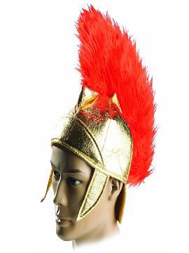 sombrero o casco romano tela