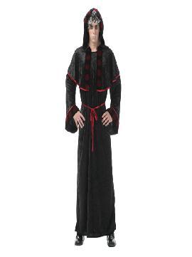 disfraz de sacerdote maligno hombre adultos