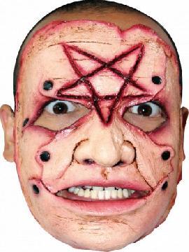 mascara simbolo de satan para adulto
