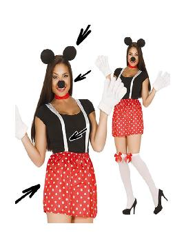 set de ratoncita minnie