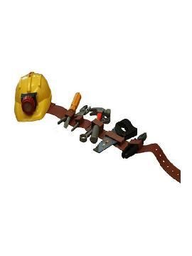 set obrero albañil infantil con herramientas