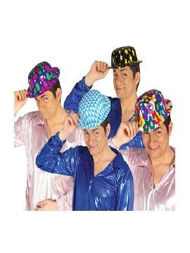 sombrero bombin de plastico decorador