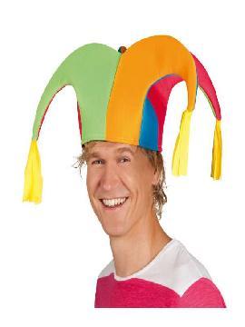 sombrero bufon colorido pr01335
