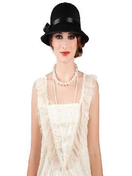 sombrero charleston dama negro