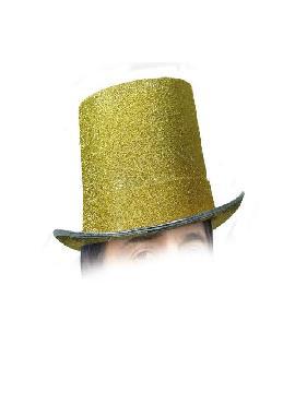 sombrero chistera oro deluxe