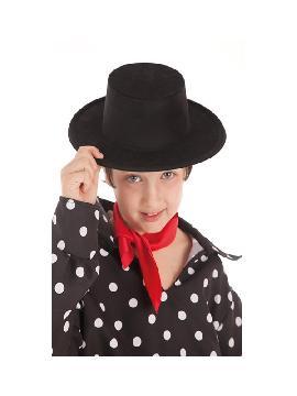 sombrero cordobes negro infantil