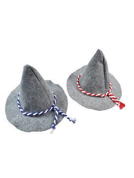 sombrero de aleman fieltro gris