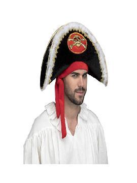 sombrero de capitan pirata deluxe