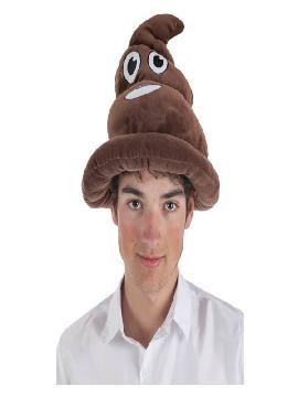 sombrero de emoticono de caca