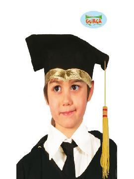 sombrero de estudiante tela infantil