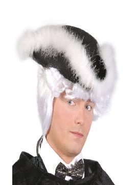 sombrero de fieltro almirante adulto