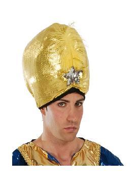 sombrero de maraja dorado