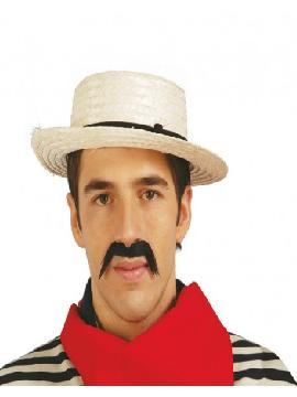 sombrero de paja gondolero veneciano adulto