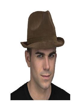 sombrero de tiroles marron
