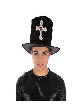 sombrero de vampiro con cruz para hombre