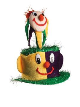 sombrero o gorro muñeco divertido