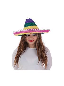 sombrero pequeño mexicano de colores