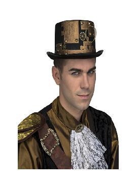 sombrero steampunk reloj del tiempo