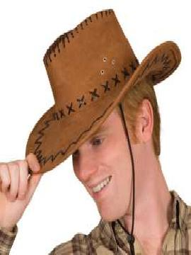 sombrero vaquero elroy marron