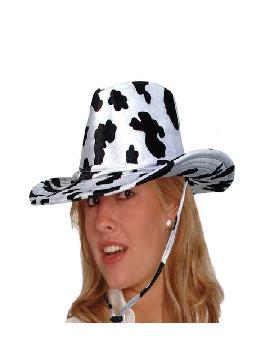 sombrero de vaquera terciopelo brillante