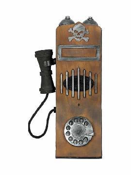 telefono antiguo con luz y sonido 15x35 cms