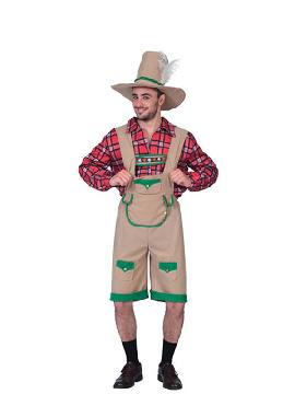 disfraz de tiroles hombre adulto.Este original disfraz de Tirolés Montañero con su camisa de cuadros para hombre te convertirá en uno de los intrépidos escaladores típicos de Tirol, con un toque atrevido.Este disfraz es ideal para tus fiestas temáticas de disfraces Del mundo por países y regionales para hombre adultos.