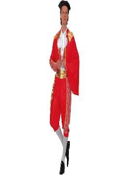 disfraz de torero luces para hombre adulto. El realismo de este traje de luces te hará brillar en Fiestas de Disfraces, Carnavales o en Celebraciones como las Despedidas de Soltero.Este disfraz es ideal para tus fiestas temáticas de disfraces de toreros y toros para hombre adultos.