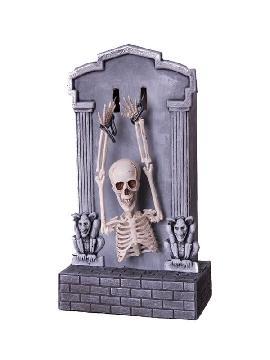 tumba esqueleto con luz sonido y movimientos