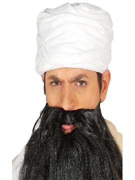 turbante de arabe blanco adulto