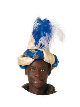 turbante de rey mago baltasar adulto