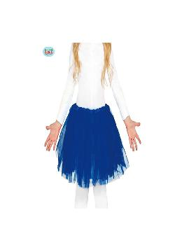 tutu azul oscuro 30 cms
