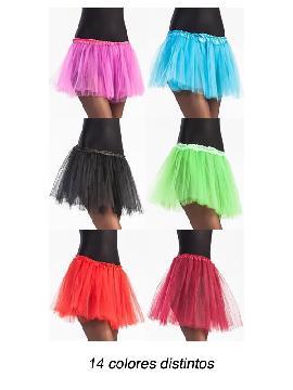 tutus 14 colores varios 40cm para mujer