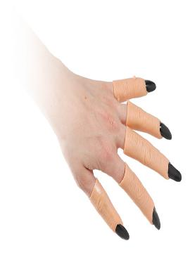 uñas con dedos de latex bolsa 5 dedos